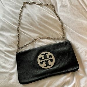 "Tory Burch ""Reva"" Clutch Black"